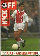 PRG    UEFA Cup 92/93   AMSTERDAM - KAISERSLAUTERN  1/8