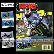MOTO JOURNAL N°794 BMW R 80 GS HONDA XL 600 V TRANSALP CAGIVA 750 24H MANS 1987