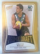 2013 AFL Select Prime Draft Travis Boak PD35 Port Adelaide 109/145