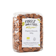 Biologique Naturel Amandes 500g - Forest Whole Foods