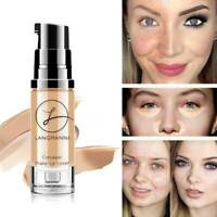 Full Cover Concealer Bright Liquid Contour Face Whitening Foundation Waterproof