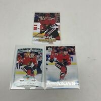 2019-20  Adam Boqvist RC Lot (3) UD Canvas Upright SP, Marquee, Base Young Guns