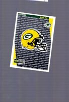 1997 Upper Deck Collector's Choice Team Set Green Bay Packers Checklist #GB14