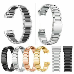 For Fitbit Charge 4 3 2 Gen Stainless Steel Watch Band Metal Strap Classic