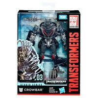 Transformers Crowbar Hasbro Studio Series 03 Deluxe Class New Action Figure Toys