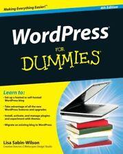 WordPress For Dummies (For Dummies (Computers)),Lisa Sabin-Wilson, Matt Mullenw