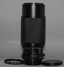 Minolta 75-200mm f4.5 MD manual focus Macro Zoom lens for X700 XD11- Nice Mint-!