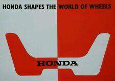 """Honda Todos Los Modelos folleto de ventas-N360 N600 N600 """"G"""" tipo S800 #"""