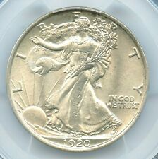 1920 Walking Liberty Half Dollar, PCGS MS64