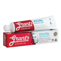 Grants Natural Toothpaste Xylitol with Cool Mint 110g