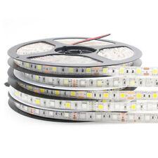 1X DC12V 5M SMD 5050 RGB LED Strip Waterproof 300LED RGBW RGBWW LED Light Strips