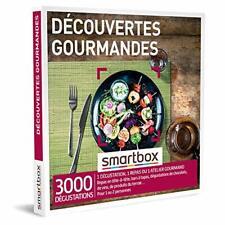 SMARTBOX - Coffret Cadeau Homme, Femme ou Couple - Idée cadeau original : Repas,