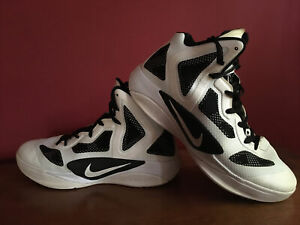 Womens Basketball Shoes Size 11 Nike Zoom Hyperfuse Black White 2011 #454153-100