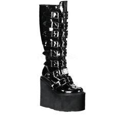 Stivali e stivaletti da donna neri Demonia con tacco altissimo (oltre 11 cm)