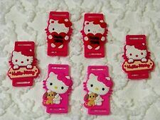 New Hello Kitty Shoe Laces/Strings Charms PvC Lot Of 3 Sets  C 668