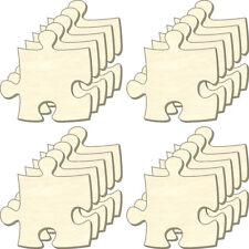 Blanko Puzzle unendlich Mini, Set 20 Teile, Puzzleteile aus Holz, Bemalen, Deko