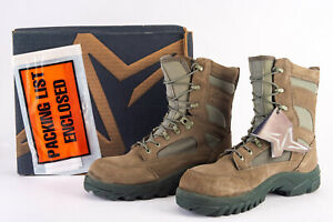 New Wellco Men's Size 8.5R Sage Work Combat Boots US Military Issue Made In USA