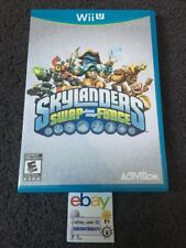 Nintendo Wii U SKYLANDERS SWAP FORCE game ONLY no figures/portal Brand New