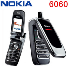 Original Nokia 6060 fold flip Cell Phone Classic 2G GSM 900 / 1800 Mobile Phone