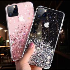 Bling Glitter Case For iPhone 12 Mini Pro Max 11 Xr SE Clear Gel Soft TPU Cover