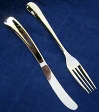 COLLECTABLE ROBERT WELCH KNIFE & FORK UPPER CLASS VIRGIN ATLANTIC FLIGHT CUTLERY