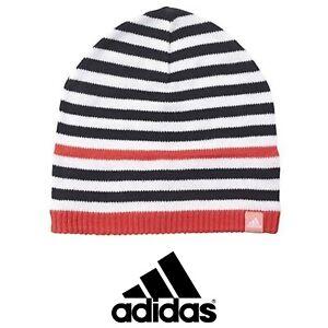 Adidas Stripy Beanie/Winter Hat, Children, Youth's ~ AY6506~ ONE SIZE