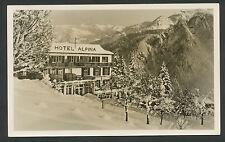 "Braunwald  Hotel ""Alpina"" 1250 m ü M."