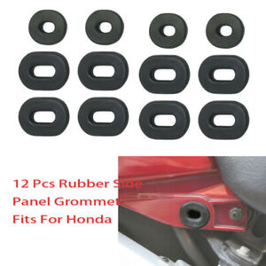 12 Side Panel Cover Grommet Replace 83551-300-000 For Honda CL100 XL100 XL125