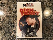 Dick Tracy New Sealed Dvd! 1946 3 TV Episodes! Dick Tracy Returns Heat