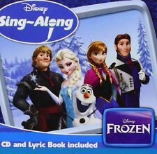 FROZEN: DISNEY SING-ALONG CD + Lyric Book (2014)
