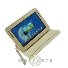 Samsung Galaxy Note 10.1 Brushed Leather Rotation Cover-Tan Case Cover Shell
