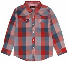 Ben Sherman Checked Long Sleeve Party Boys' Shirts (2-16 Years)