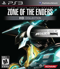 ZONE OF THE ENDERS HD COLLECTION - PS3 - BRAND NEW