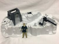 1980 STAR WARS HOTH IMPERIAL ATTACK BASE PLAYSET (Incomplete) w/ Hoth Han Solo