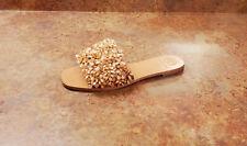 New! Tory Burch 'Logan' Embellished Slide Sandals Rose Womens 7 M MSRP $298