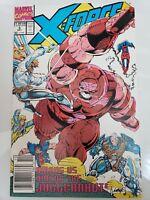 X-FORCE #3 (1991) MARVEL COMICS ROB LIEFELD ART! NEWSTAND EDITION! MOVIE NM