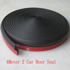 Universal 4M Z-shape Car Exterior Door Window Seal Strip WeatherStrip Rubber