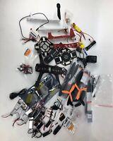Huge Lot Of Drone Parts Including Batteries Motors Motor Shaft Propeller FSTSHP
