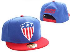 OFFICIAL MARVEL COMICS CAPTAIN AMERICA RETRO SHIELD SNAPBACK CAP HAT (NEW)