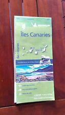 neuve new Carte ZOOM Iles des Canaries 2019 Michelin- free port international