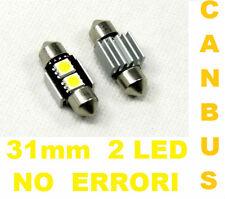 2 Lampadine T11 LED Canbus C5W.Lampadina luce interni bianco freddo,12V,siluro