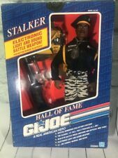 "NEW 1991 HASBRO GI JOE HALL OF FAME ""STALKER"" COLLECTORS EDITION W/ LIGHT,SOUND"