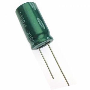 3300uF 25V   Electrolytic  Radial Capacitor Samsung