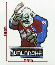 Colorado Avalanche Mascot NHL Hockey Sport Patch Logo iron,saw on clothes