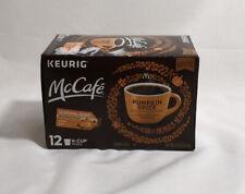 12 Keurig McCafe Pumpkin Spice Coffee K-Cup Pods