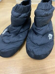 The North Face 700-Fill Goose Down Tent Booties Pair Black Women's Size S
