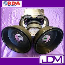 RDA Rear Brake Drums & Shoes  TOYOTA HILUX 4wd RN105, LN106, YN106 8/1988-7/1997