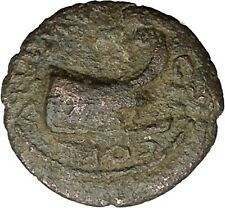 COMMODUS 177AD Coela Thrace Galley Ship Authentic Ancient Roman Coin i48728