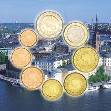 [#92466] Estonie, Série de 8 pièces, 1 Centime à 2 Euro, 2011