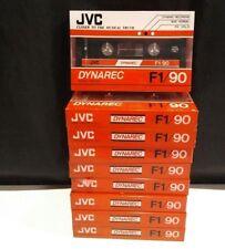 Lot of 9 NOS JVC DYNAREC F1/90 CASSETTE TAPE sealed Dynamic Recording JAPAN